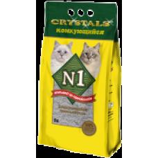 """N1 Cristals """"Комкующийся"""" улучшенное качество (5л)"""
