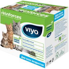 VIYO REINFORCES CAT ADULT пребиотический напиток для кошек всех возрастов 7х30мл