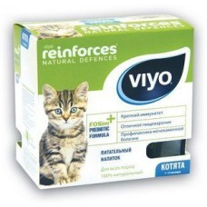 VIYO REINFORCES CAT KITTEN пребиотический напиток для котят 7х30мл