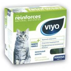 VIYO REINFORCES CAT SENIOR пребиотический напиток для пожилых кошек 7х30мл