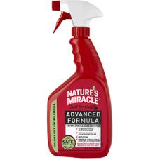 NATURE'S MIRACLE Уничтожитель пятен и запахов от кошек с усиленной формулой (945мл)
