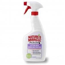 NATURE'S MIRACLE средство для устранения запаха кошачьего туалета