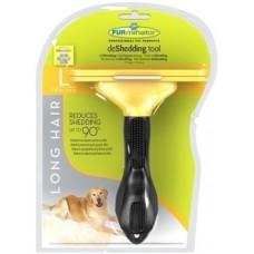 FURminator для собак крупных длинношерстных пород Long Hair Large Dog 10 см