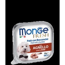 Monge Dog Fresh нежный паштет для собак 100г