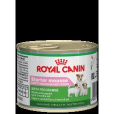 Royal Canin Starter Mousse для сук и щенков с 2х месяцев 195г