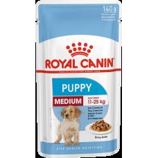 Royal Canin Medium Puppy для щенков с 2 до 12 месяцев 140г