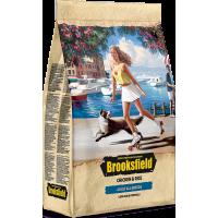 Brooksfield ADULT корм для взрослых собак всех пород курица/рис 12кг