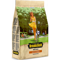Brooksfield ADULT корм для взрослых собак всех пород говядина/рис 3кг