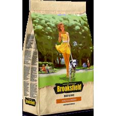 Brooksfield ADULT корм для взрослых собак всех пород говядина/рис
