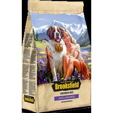 Brooksfield ADULT LARGE корм для взрослых собак крупных пород курица/рис