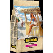Brooksfield ADULT SMALL корм для взрослых собак мелких пород говядина/рис 800г