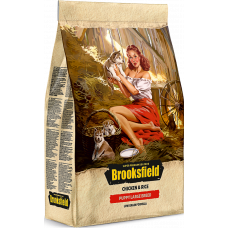 Brooksfield PUPPY LARGE корм для щенков крупных пород курица/рис 12кг
