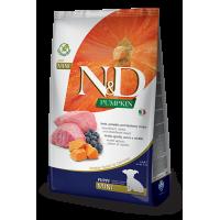 Farmina dog N&D Беззерновой корм для щенков мелких пород ягненок с тыквой