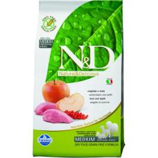 Farmina N&D Беззерновой Кабан с яблоком д/взрослых собак 2.5кг