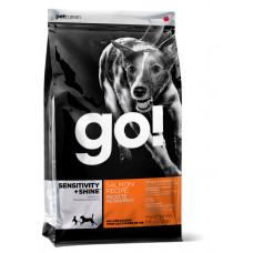 GO! SENSITIVITY + SHINE для щенков и собак со свежим лососем