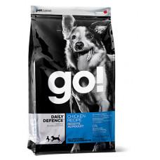 GO! DAILY DEFENCE Для Щенков и Собак с Цельной Курицей, фруктами и овощами