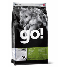 Go Natural Sensitivity + Shine Беззерновой корм для собак и щенков с индейкой 2.72кг