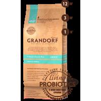 Grandorf для собак всех пород 4 вида мяса 1кг