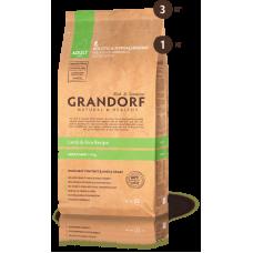 Grandorf для собак мелких пород ягненок рис 3кг