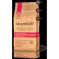 Grandorf для взрослых собак средних пород ягненок с рисом 1кг