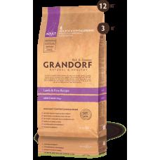 Grandorf для взрослых собак крупных пород ягненок рис 3кг