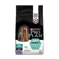 Pro Plan Optidigest беззерновой корм для взрослых собак мелких пород с чувствительным пищеварением 7кг