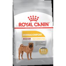 Royal Canin MEDIUM DERMACOMFORT для собак с раздраженной и зудящей кожей 3кг