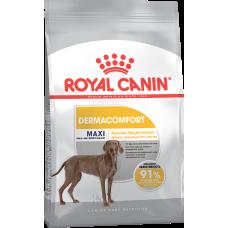 Royal Canin MAXI DERMACOMFORT для собак с раздраженной и зудящей кожей 3кг