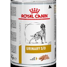 Royal Canin URINARY S/O  при заболеваниях дистального отдела мочевыделительной системы 410г