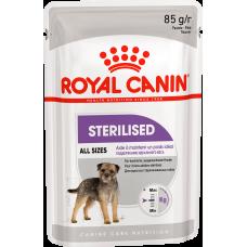 Royal Canin STERILISED Влажный корм для стерилизованных собак 85г
