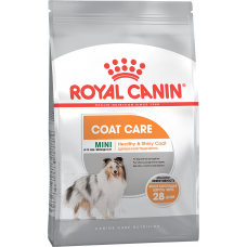Royal Canin MINI COAT CARE Корм для собак с тусклой и сухой шерстью 3кг