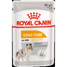 Royal Canin COAT CARE Влажный корм для собак с тусклой и сухой шерстью 85г