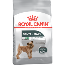 Royal Canin MINI DENTAL CARE Корм для собак с повышенной чувствительностью зубов 1кг