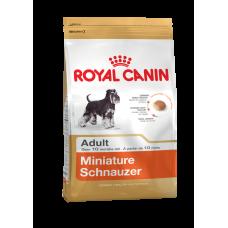 Royal Canin Корм для собак породы Миниатюрный Шнауцер старше 10 месяцев 3кг