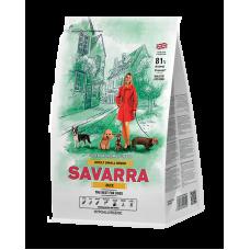 SAVARRA ADULT SMALL BREED DOG  для взрослых собак мелких пород с уткой (100гр)