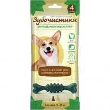 Зубочистики Мятные для собак средних пород для поддержки пищеварения