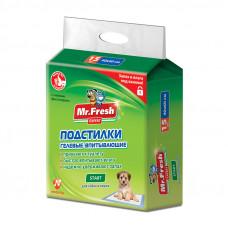 Mr.Fresh Start пеленки для приучения к месту 40х60 15шт