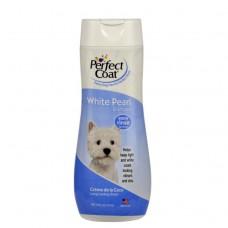 Perfect Coat White Pearl шампунь-кондиционер Белый жемчуг, для светлых собак