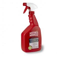 NATURE'S MIRACLE Уничтожитель пятен и запахов с усиленной формулой (945мл)