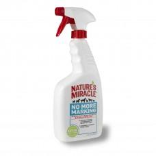 NATURE'S MIRACLE Уничтожитель пятен и запахов против повторных меток (710мл)
