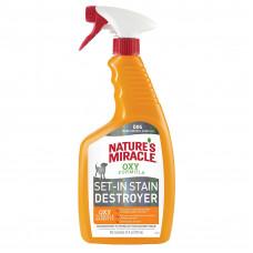 NATURE'S MIRACLE Уничтожитель пятен и запахов Окси-формула для собак