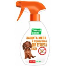 Умный спрей Защита мест НЕ предназначенных для туалета для собак