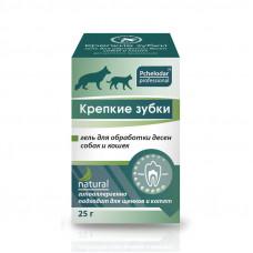 Крепкие Зубки гель для обработки десен собак и кошек 25г
