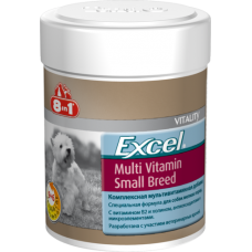 8in1 Excel Multi Vitamin Small Breed Эксель Мультивитамины для собак мелких пород (70таб)