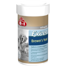 8in1 Excel Brewer's Yeast Эксель Пивные дрожжи, для кошек и собак (140таб, 260таб, 780таб, 1430таб)