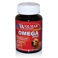 Wolmar OMEGA 2500 - мультикомплекс для собак средних и крупных пород (200таб)